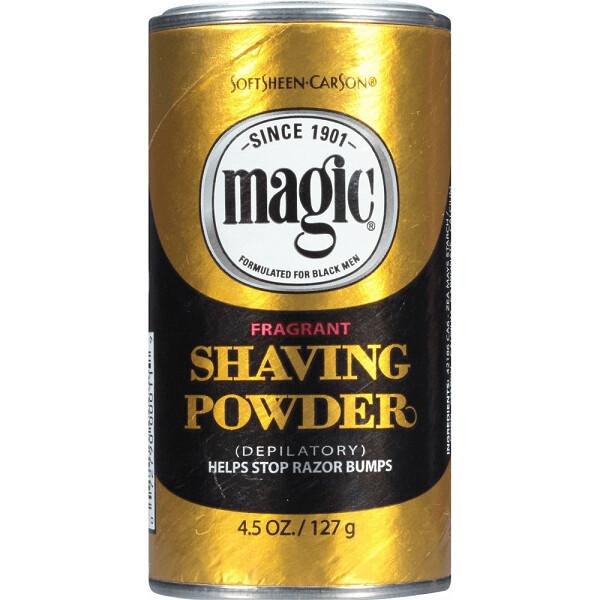 Magic Fragrant Shaving Powder, 4.5 Ounce