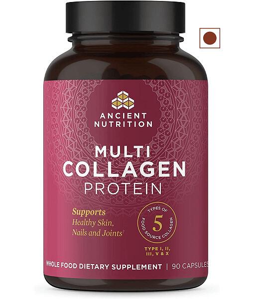 Ancient Nutrition Multi Collagen Capsules, 90 Capsules