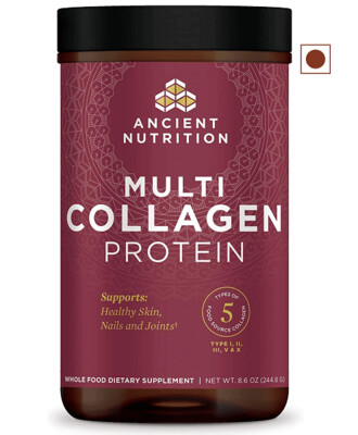 Ancient Nutrition Multi Collagen Protein Powder Pure, 8.6 Ounce