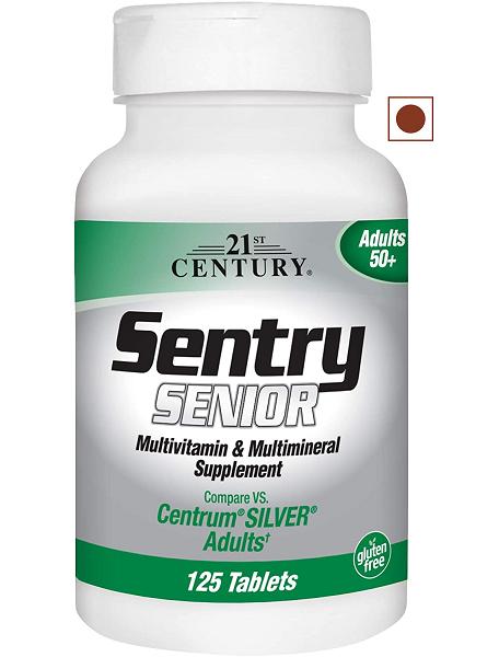 21st Century Sentry Senior Tablets, 110 Count