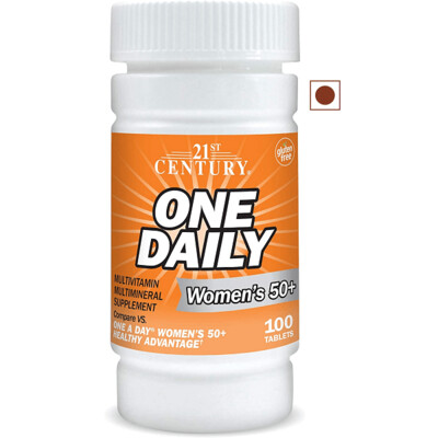 21st Century One Daily Women's 50+, 100 Tablets