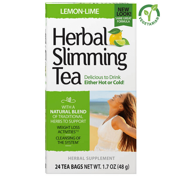 21st Century Herbal Slimming Tea Lemon Lime, 24 Tea Bags