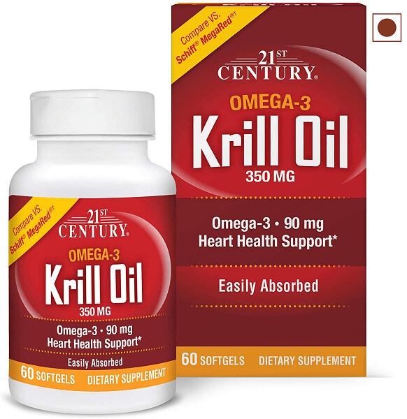 21st Century Krill Oil 300 mg , 60 Softgels
