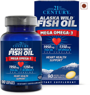 21st Century Alaska Wild Fish Oil, 90 Softgels
