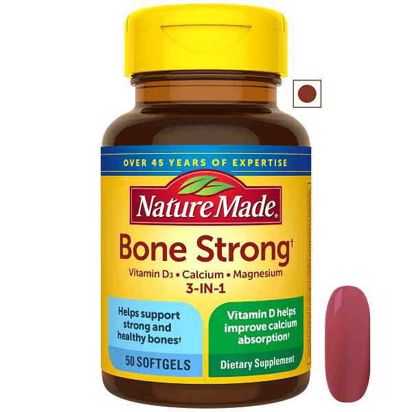 Nature Made® 3-in-1 Bone Strong, 50 Softgels