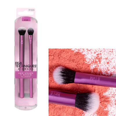 Real Techniques Eyeshadow Makeup Brush Set, 2 Count