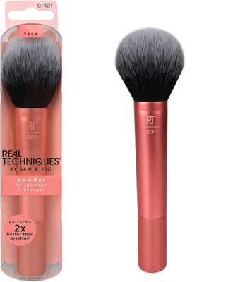Real Techniques Powder and Bronzer Brush, 1 Count