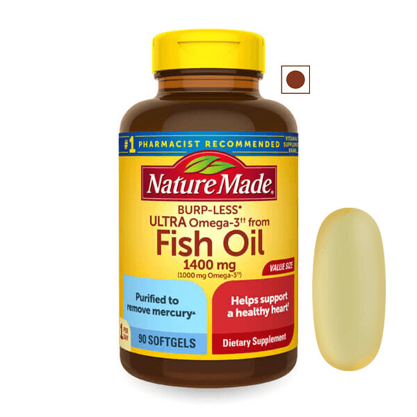 Nature Made® Ultra Omega-3 from Fish Oil 1,400 mg, 90 Softgels