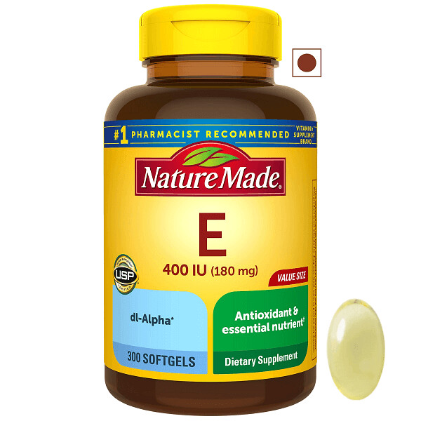 Nature Made® Vitamin E 180 mg (400 IU) dl-Alpha, 300 Softgels