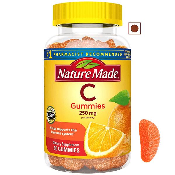 Nature Made® Vitamin C 250 mg, 80 Gummies
