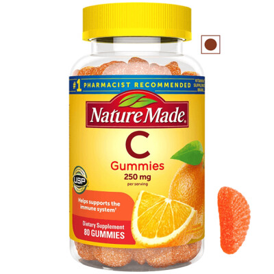 Nature Made® Vitamin C 250 mg, 80 Gummies