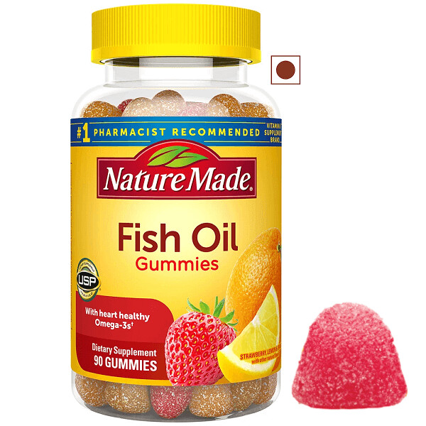 Nature Made Fish Oil Gummies, 90 Count