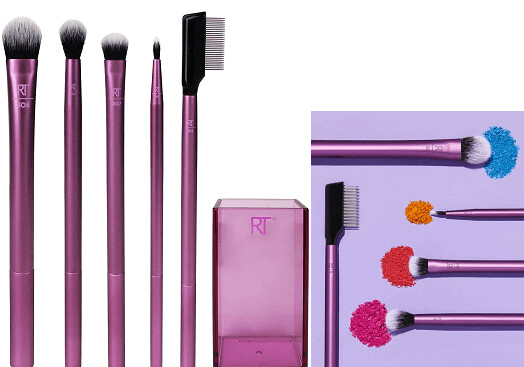 Real Techniques Professional Eyeshadow Blending Makeup Brush Set, Set of 5