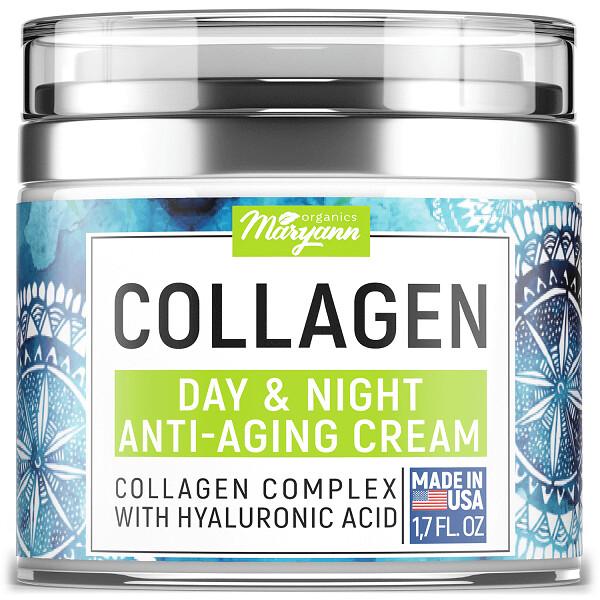 Maryann Organics Anti Aging Day and Night Cream, 1.7 fl Oz