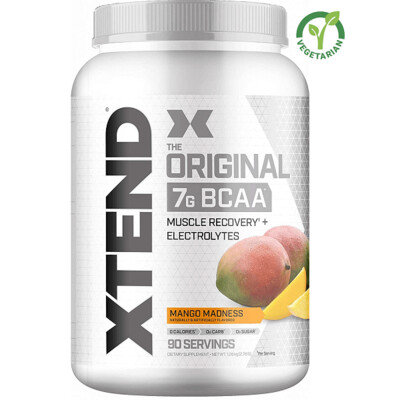 Scivation Xtend Original Bcaa, Mango Madness, 90 Servings
