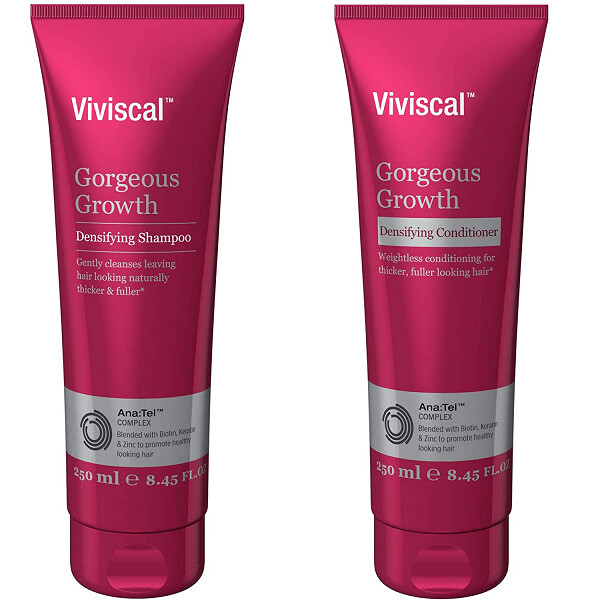Viviscal Gorgeous Growth Densifying Hair Shampoo and Conditioner , 8.45 fl Ounce