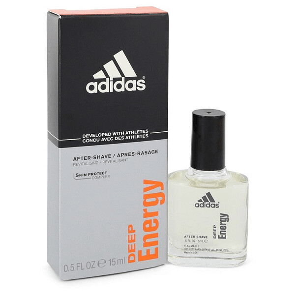 Adidas Deep Energy After Shave Cologne, 15 ml