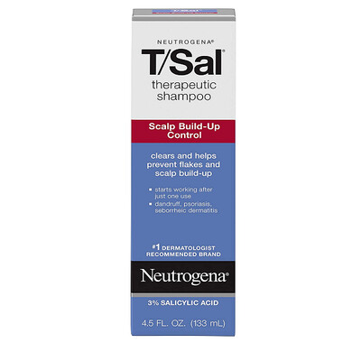 Neutrogena Therapeutic Shampoo for Hair Scalp, 4.5 Fl Oz