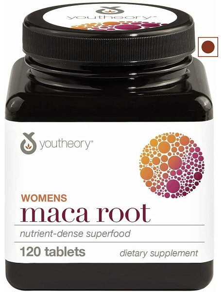 Youtheory Women's Maca Root, 120 Tablets