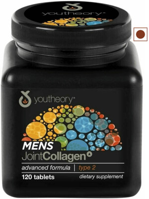 Youtheory Mens Joint Collagen Advanced, 120 Tablets
