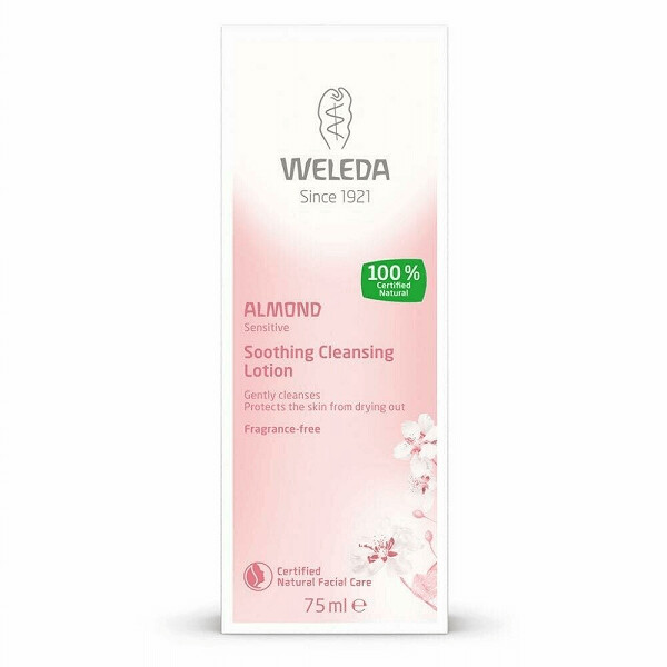Weleda Sensitive Care Almond Soothing Cleansing Lotion, 2.5 fl Ounce
