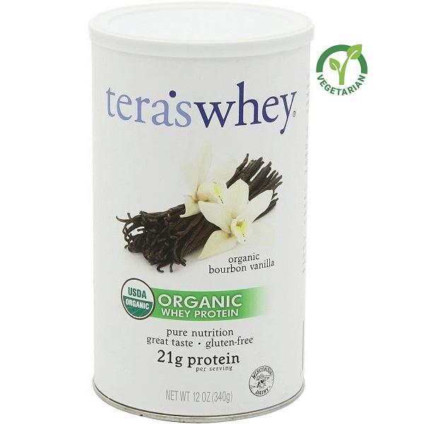 Tera's Whey Organic Protein, Bourbon Vanilla,12 Ounce