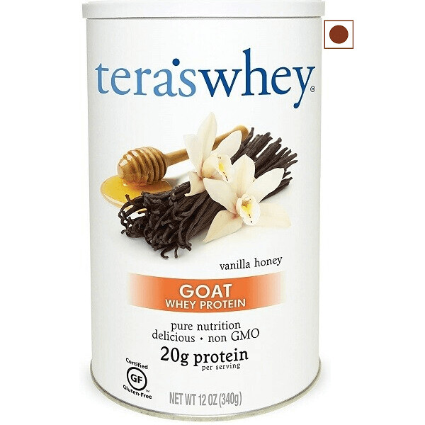 Tera's Whey Goat Protein, Vanilla Honey, 12 Ounce