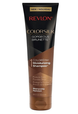 Revlon ColorSilk Care Hair Shampoo, Brown, 8.45 fl Ounce