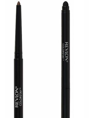 Revlon ColorStay Eyeliner Pencil, #203 Brown, 1 Count