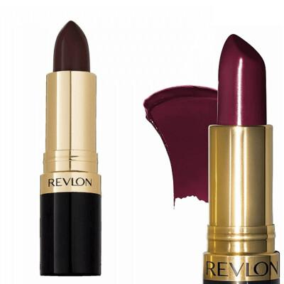 Revlon Super Lustrous Lipstick with Vitamin E, 477 Black Cherry, 1 Count