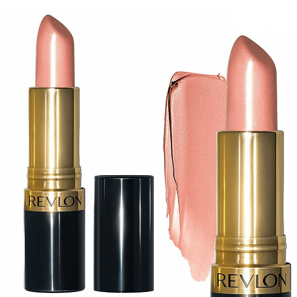 Revlon Super Lustrous Lipstick with Vitamin E, 405 Silver City Pink, 1 Count