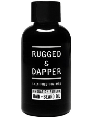 Rugged and Dapper Beard and Hair Oil for Men, 2 Ounce