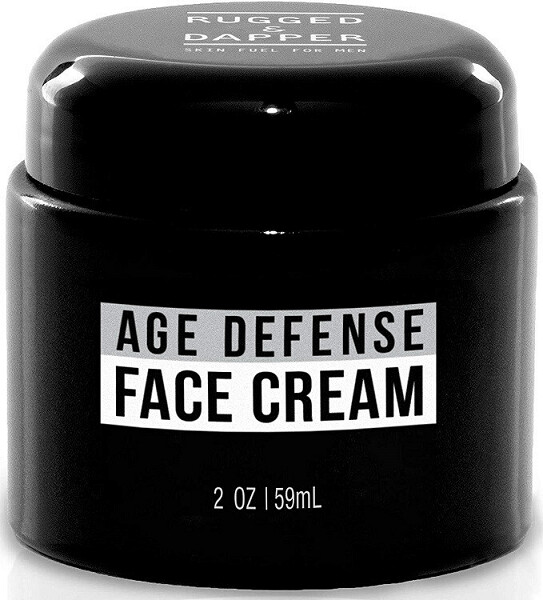 Rugged and Dapper Face Cream for Men, Anti-Aging Day and Night Cream, 2 Ounce