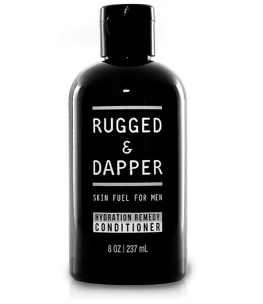 Rugged and Dapper Hydration Remedy Hair Conditioner for Men, 8 Ounce