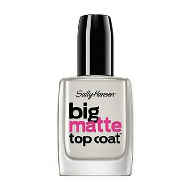 Sally Hansen Treatment Big Matte Top Coat, 1 Count