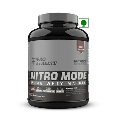 ProAthlete Nitro Mode 100% Whey Matrix, Magnum Chocolate, 2 Kg