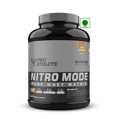 ProAthlete Nitro Mode 100% Whey Matrix, Blended Coffee, 2 Kg