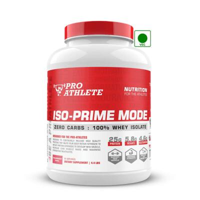 ProAthlete IsoPrime Mode 100% Whey Isolate, Strawberry Swirl, 2 Kg