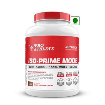 ProAthlete IsoPrime Mode 100% Whey Isolate, Pure Coffee, 2 Kg