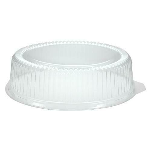 """Dome Lid for 12"""" Round Flat Tray"""