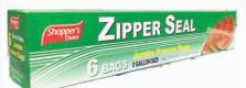 Zipper Bag 6 Count