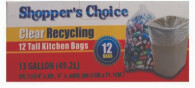 13 Gallon Recycling Bag 12 Count
