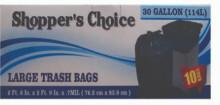30 Gallon Trash Bag 8 Count