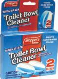 2 Pack Bowl Cleaner Blue