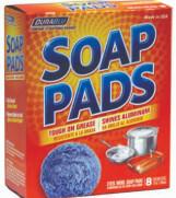 Soap Pads Blue 8 Pack