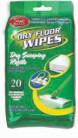 20 Count Floor Mop Dry Wipes