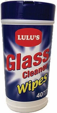 Glass Cleaner Wipes 40 Count
