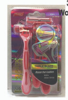 3 Pack Razor Pink Unisex