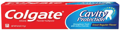 Colgate Toothpaste 2.5oz Cavity Protection