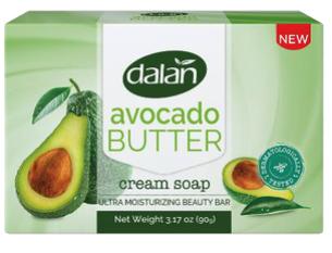 Dalan 3pk Bar Soap Avocado Butter